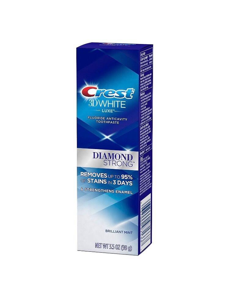 Bieliaca zubná pasta Crest 3D White DIAMOND STRONG