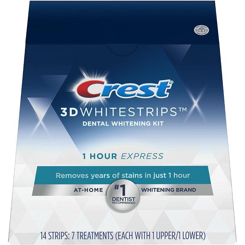 Hodinové bieliace pásiky Crest 1-hour EXPRESS