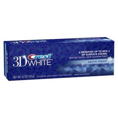 Bieliaca zubná pasta 3D ARCTIC FRESH