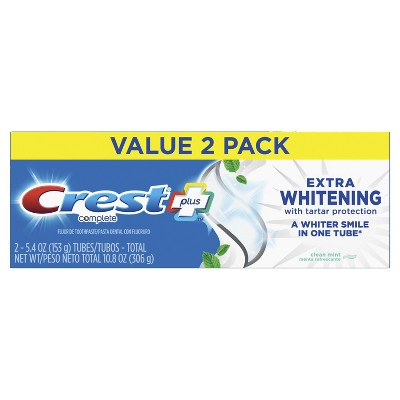 Dvojbalenie Crest COMPLETE plus Extra-Whitening