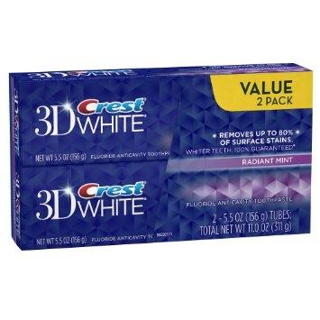 Výhodné 2-balenie 3D White Radiant Mint