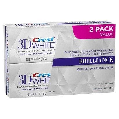 Výhodné 2-balenie Crest 3D White BRILLIANCE