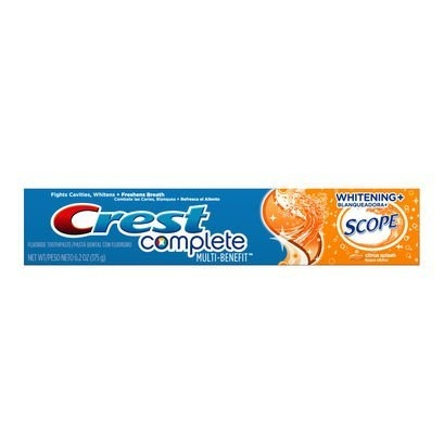 Zubná pasta Crest Whitening Scope CITRUS