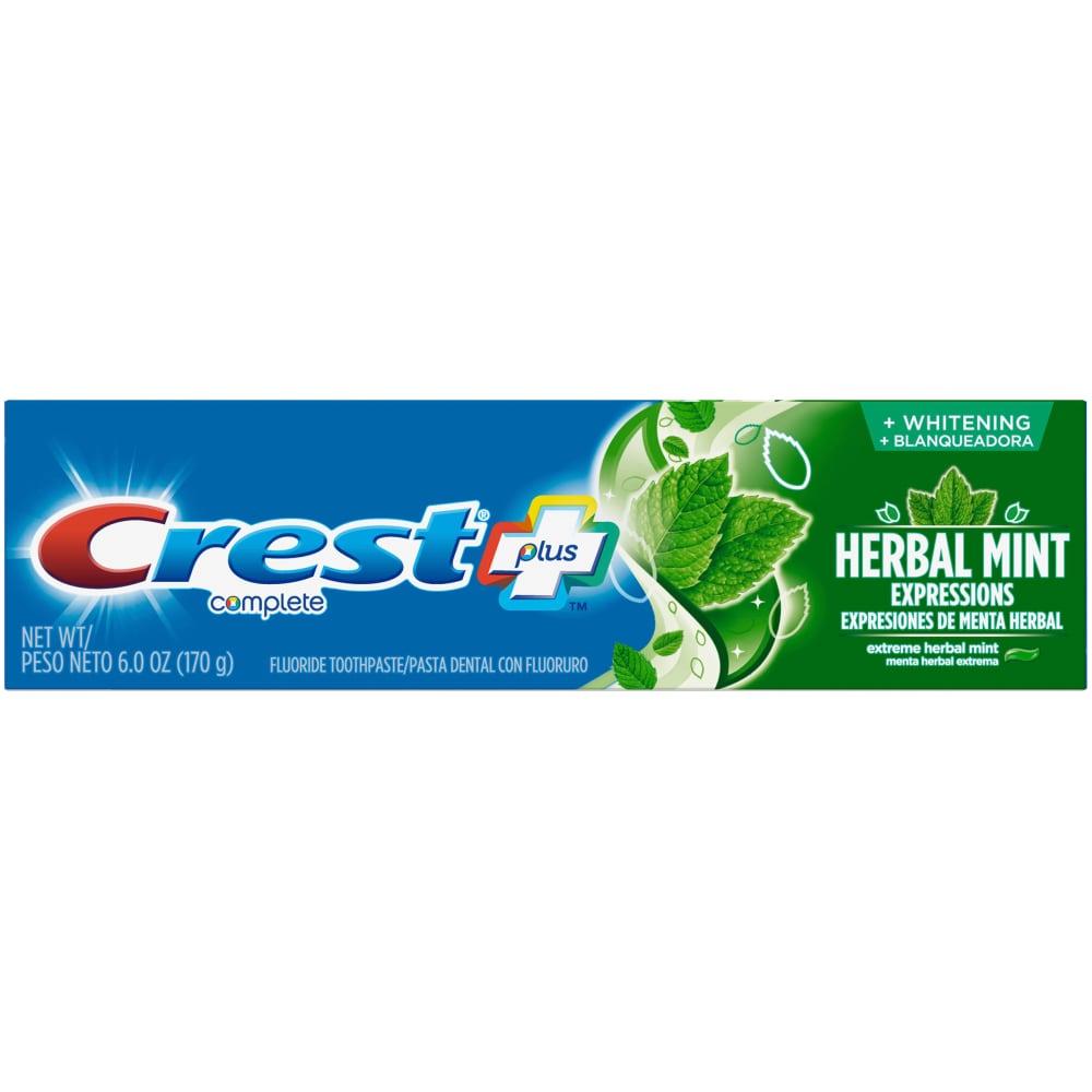 Zubná pasta Crest COMPLETE Plus HERBAL Mint