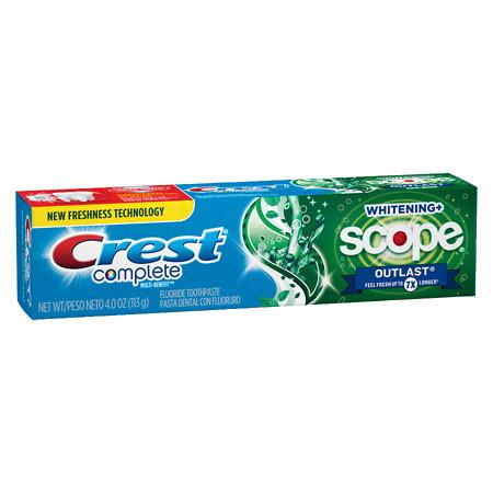 zubná pasta Crest Scope Outlast
