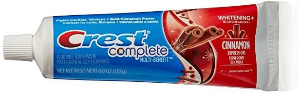 Zubná pasta Crest Cinnamon - škoricová