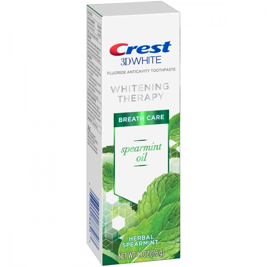 Bieliaca zubná pasta Crest Whitening Therapy SPEARMINT OIL