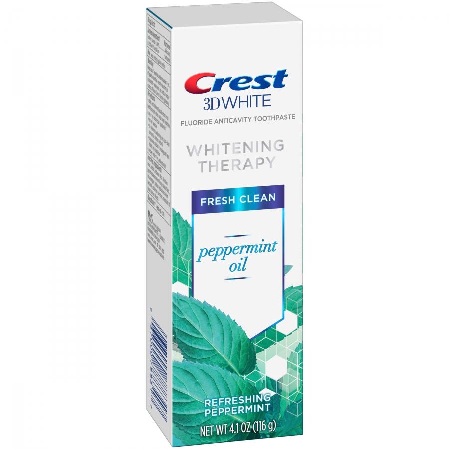Bieliaca zubná pasta Crest Whitening Therapy PEPPERMINT OIL