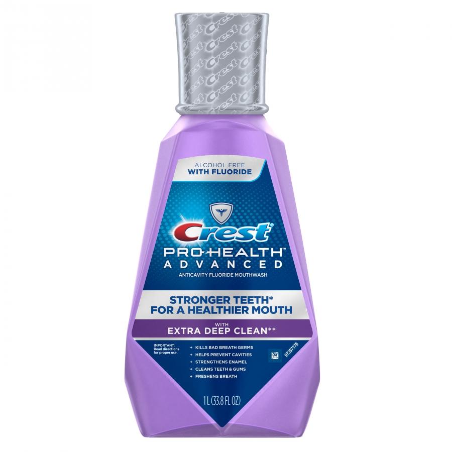 Ústna voda Crest Pro-Health ADVANCED EXTRA DEEP CLEAN