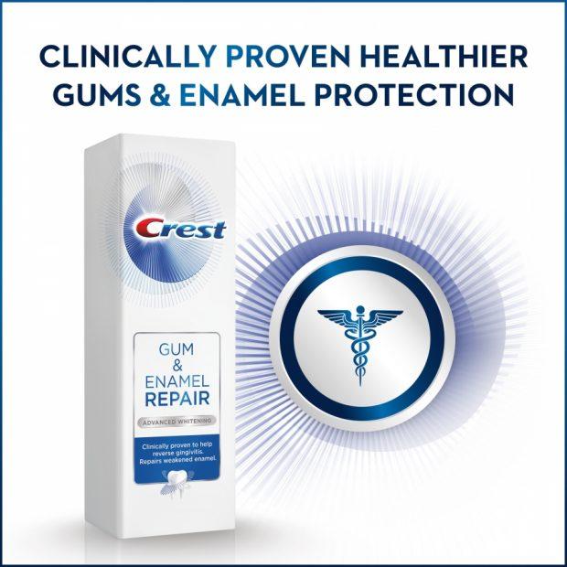 Zubná pasta proti zápalu ďasien Crest GUM & ENAMEL REPAIR