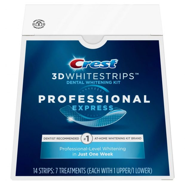 Bieliace pásiky Crest professional effects
