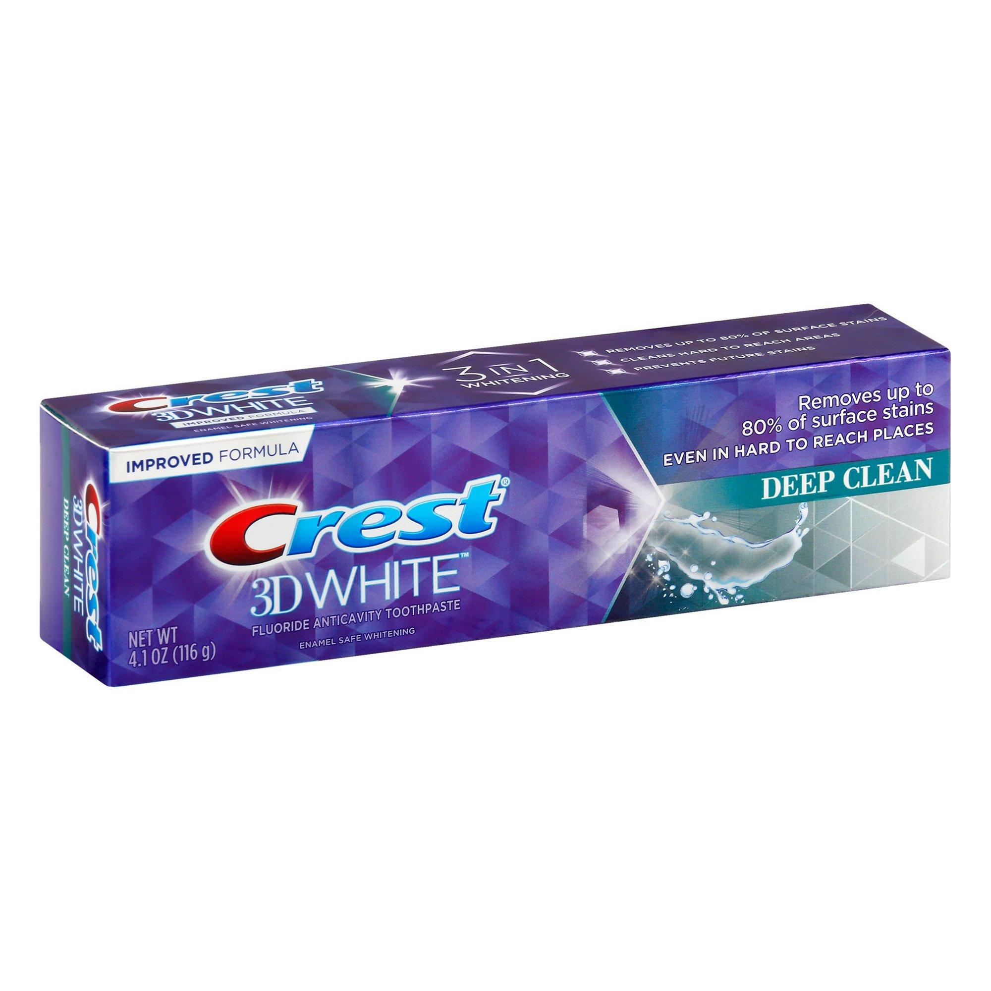 Bieliaca zubná pasta Crest 3D WHITE Deep Clean